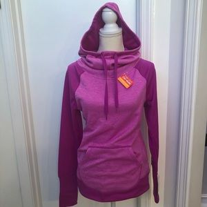 Champion Duo Dry women's sz S pullover hoodie NEW